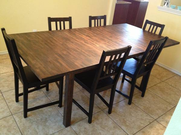 Craigslist Dining Room Table And Chairs, Craigslist Dining Room Set