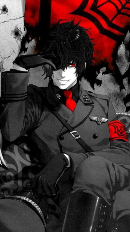 Reminds Me Of Alacard From Hellsing Dark Anime Black Anime Guy