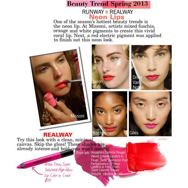 Runway To Realway Neon Lips Neon Lips Beauty Boutique Girly Makeup