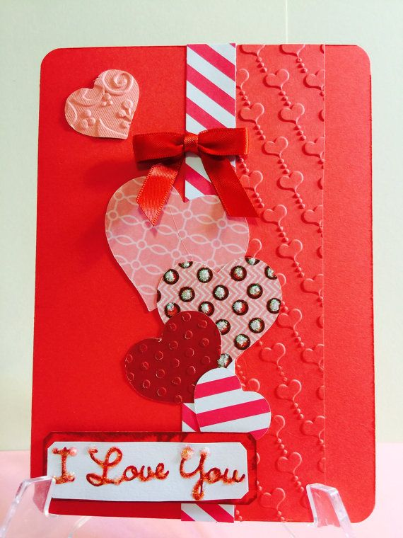 Valentines day elegant handmade greeting card pinterest handmade greeting card valentines day elegant by cwenselcreations m4hsunfo