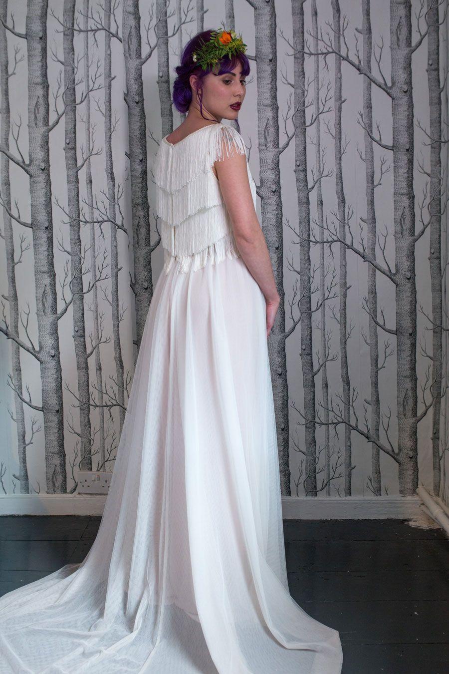 Non traditional wedding dress  Colourful u Quirky Wedding Dresses For NonTraditional Brides Lucy