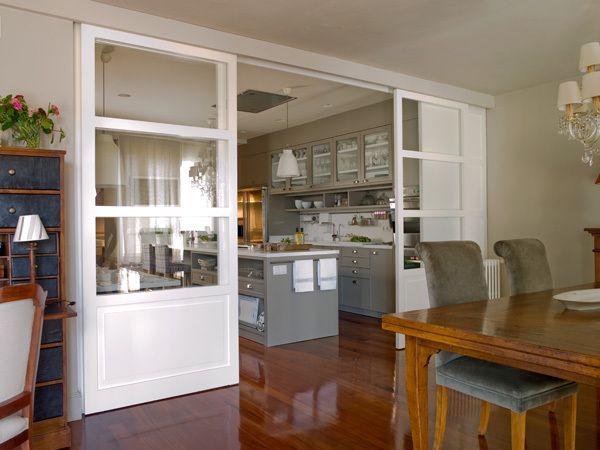 Resultado de imagen de cocinas acristaladas proyectos for Puertas acristaladas correderas