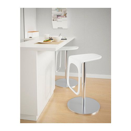 Barhocker Ikea bar stool ikea easy to adjust the height with only one