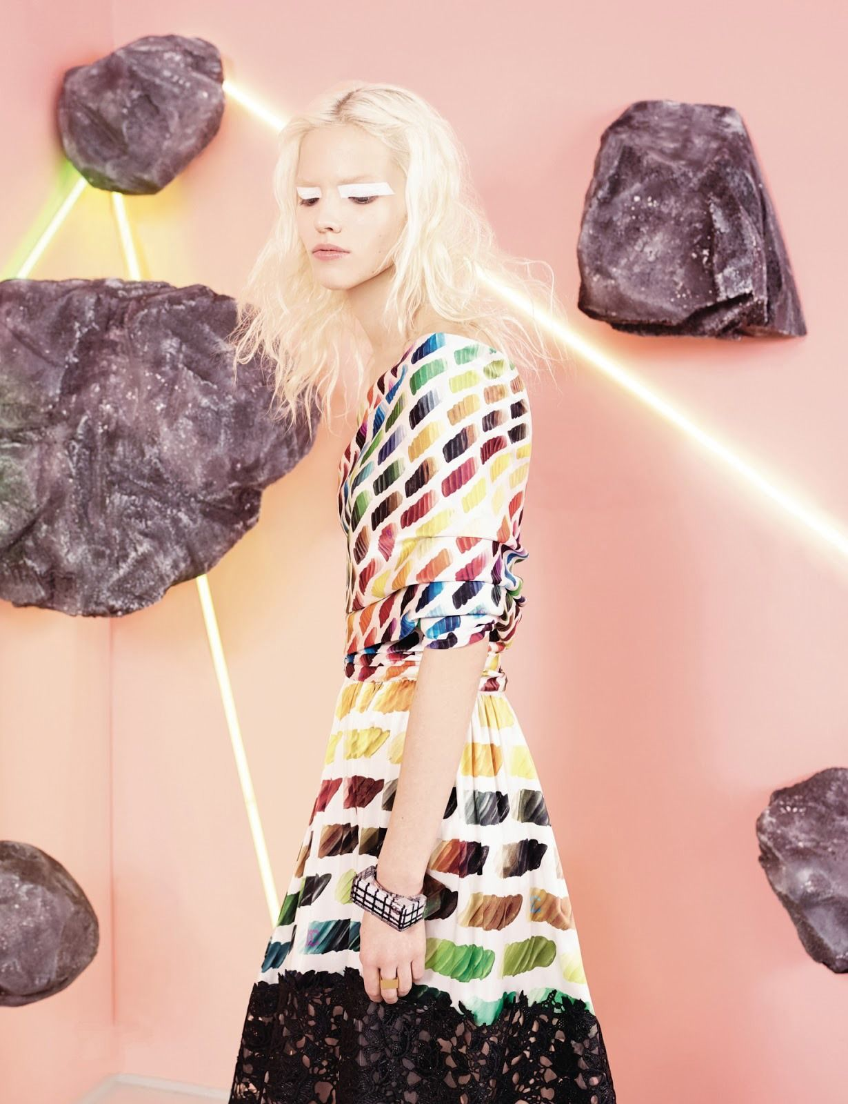 Sasha Luss for MaxMara Spring 2014