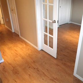 Vinyl flooring vinyl floors ez lay flooring bathrooms for Acme kitchen cabinets calgary