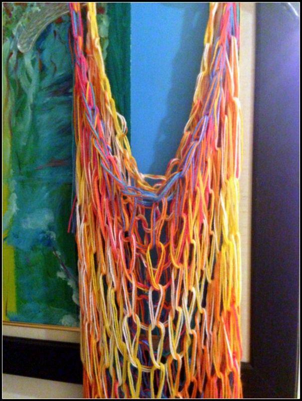 Dress. Handmade. Arm knitting TinybyMJ