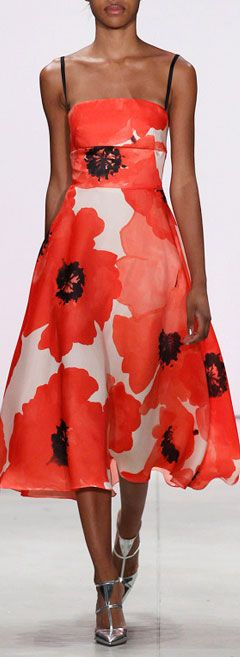 Lela Rose SS16 Ready To Wear Spring Summer 2016 Runway
