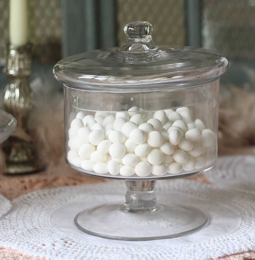 Footed Glass Sweet Jar | Glass sweet jars, Sweet jars and Future house