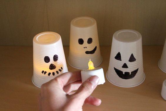 Halloween Dekoration in 2 Minuten fertig #bricolagehalloweenenfant