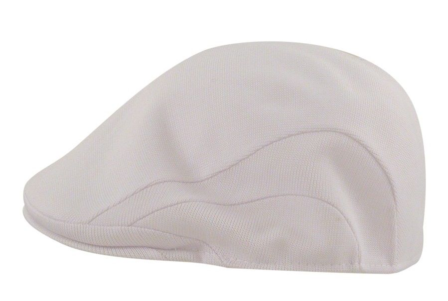 Kangol Hats Mens White Tropic Flat 507 Cap  51092e33746c