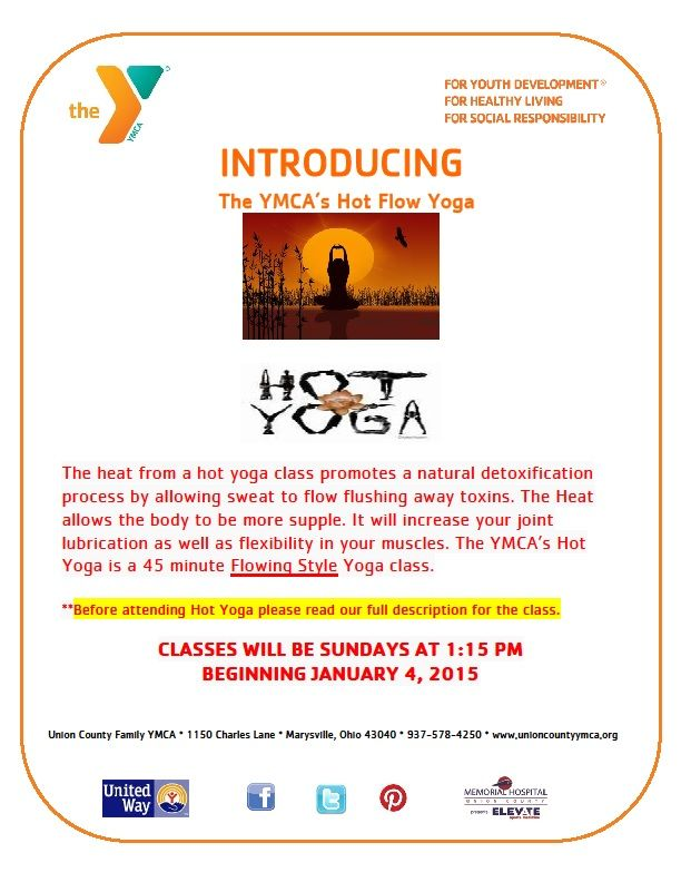 Hot Yoga added to our Yoga Schedule for 2015