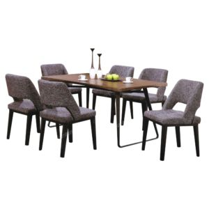 Dining Set Archives Kedai Perabot Sin Hup Fatt Ipoh Fabric Dining Chairs Solid Wood Table Tops Dining Set