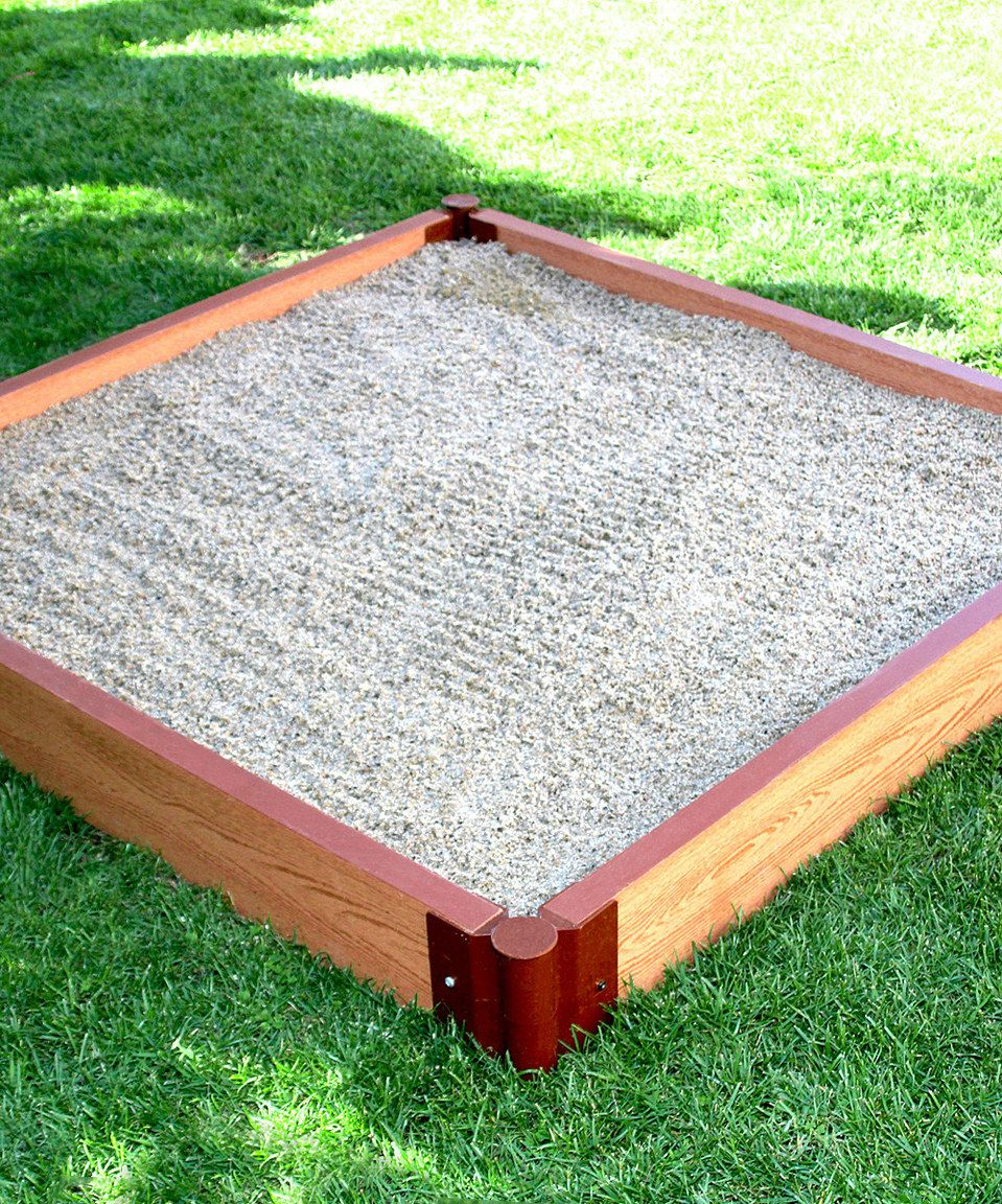 2\'\' Series 4\' x 5.5\'\' Composite Square Sandbox Kit by Frame It All ...
