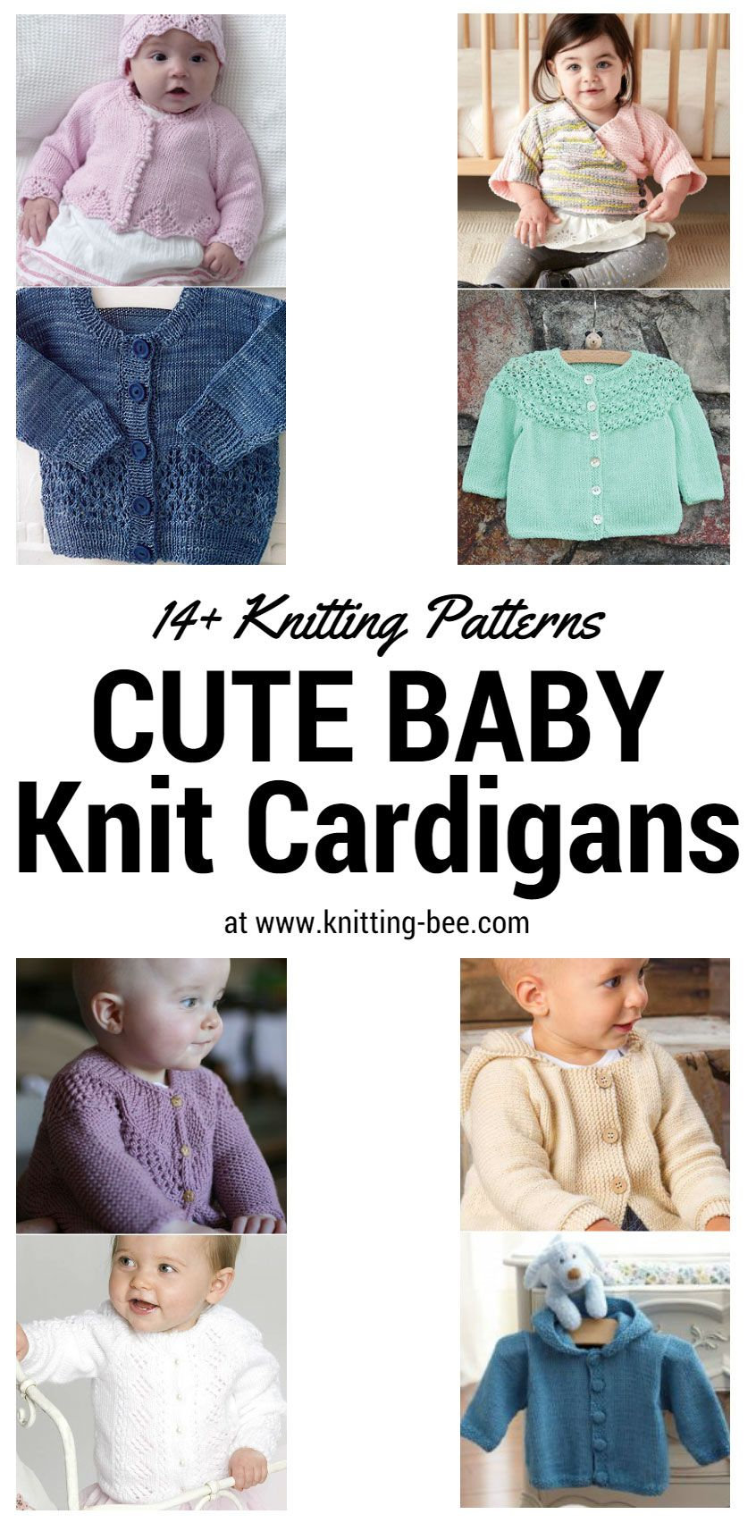 Cute Baby Knit Cardigans You Can\'t Resist | Baby knitting, Knit ...