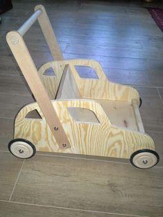 Laufwagen, Laufwernwagen, Laufwagerl,Holz, selber bauen, Anleitung ...