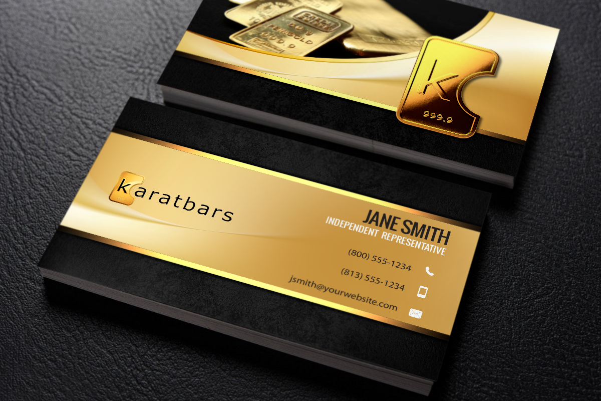 Karatbars Business Cards Free Shipping Printing Business Cards Karatbars Business Hours Sign