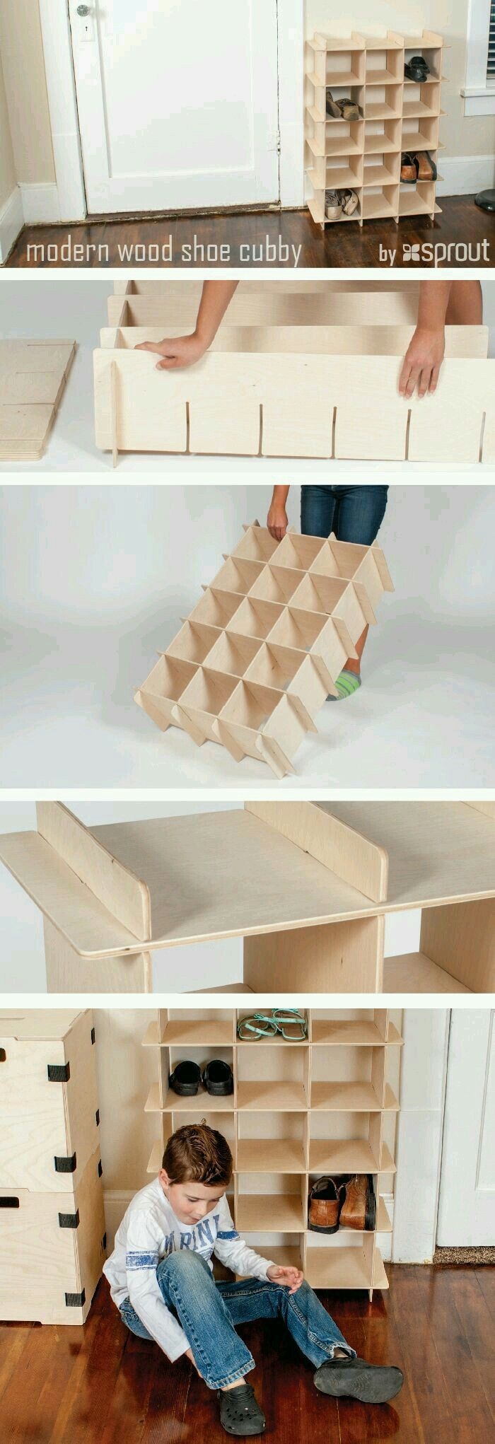 15+ Smart DIY Shoe Rack Ideas for Your Home | Shoe storage solutions ...
