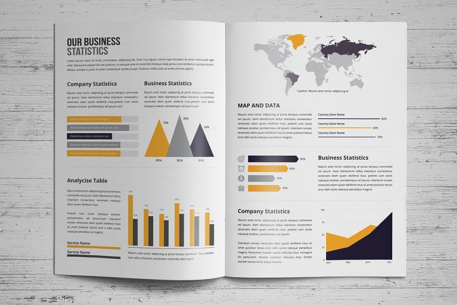 Annual Report Design V3 Business Report Design Annual Report