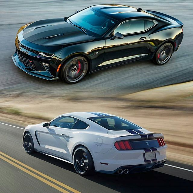 New 2017 1le Camaro Ss 6 2 Lt1 455 Hp Or The 2016 Gt350 5 526hp Leave Your Thoughts Below Repost From Sdsociety Americanmusclehd Mustang