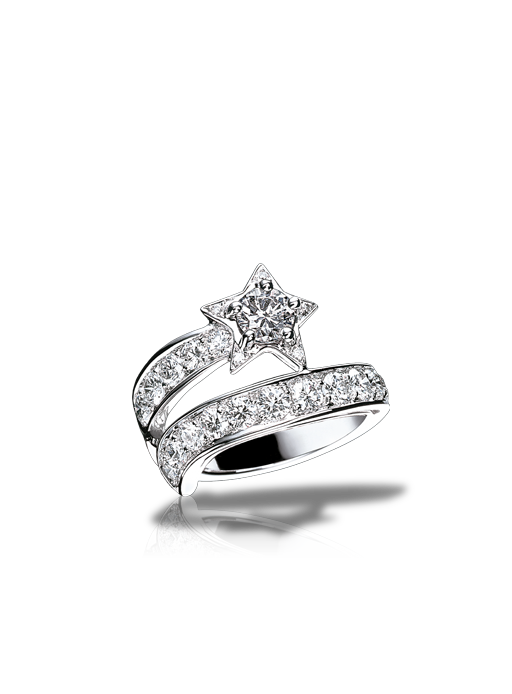 wedding bands unique weddings wedding stuff chanel ring star ring