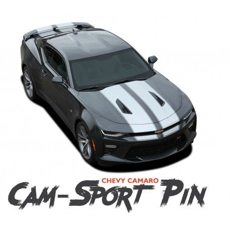 Chevy Camaro Cam Sport Pin Factory Oe Style Rally Racing Stripes With Pin Outline Vinyl Graphics Kit 2016 2017 2018 Https Chevy Camaro Racing Stripes Camaro