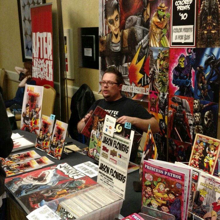 A A I Wars Jason Flowers At The Atlanta Comic Convention Acc Www Atlantacomicconvention Com Comic Conventions Comics Atlanta