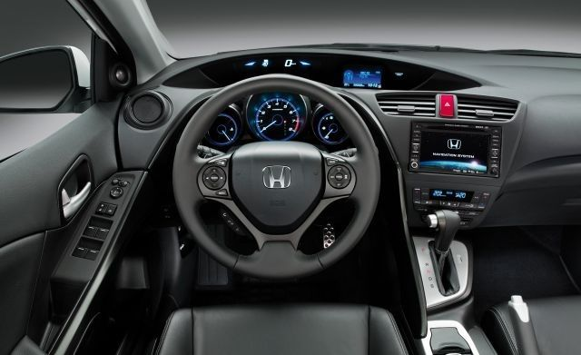 2018 Honda Civic Hybrid Interior