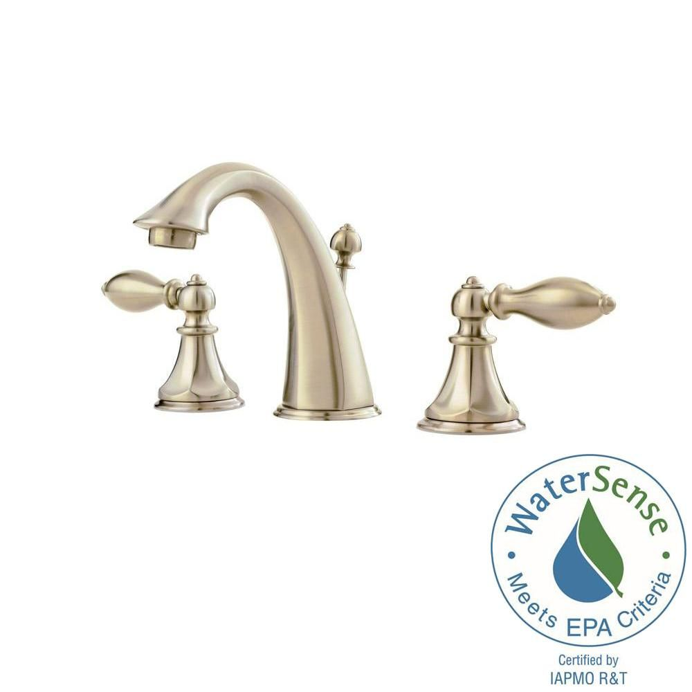 Pfister Catalina 8 in. Widespread 2-Handle Bathroom Faucet in ...