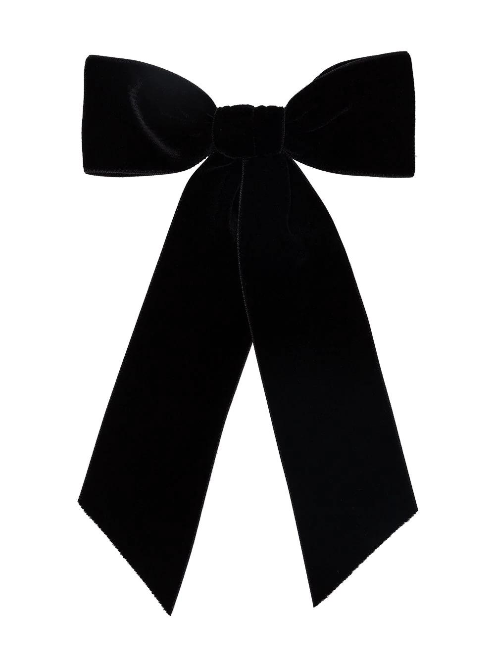 Jennifer Behr Wide Bow Hair Clip Farfetch Bow Hair Clips Hair Clips Designer Hair Accessories