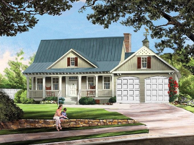 Home plan homepw75839 1738 square foot 3 bedroom 2 for Www homeplans com