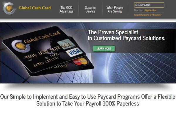 Global Payroll Login