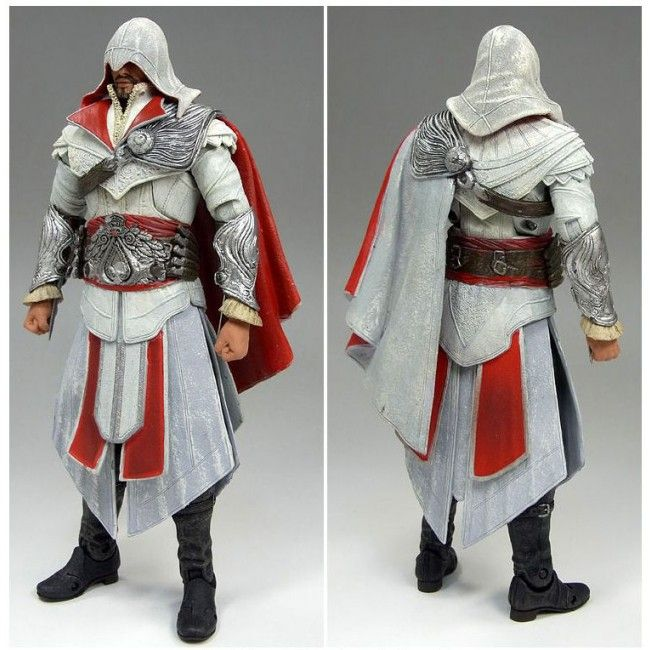 Onyx Costume 7 Neca Action Figure Unhooded Assassins Creed
