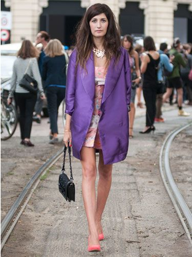 Street Style at Spring 2014 Milan Fashion Week - MFW Street Style Pictures - Marie Claire