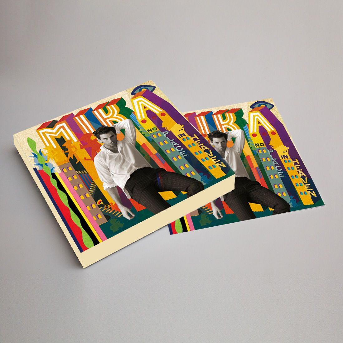 MIKA+-+No+Place+In+Heaven+Signed+Deluxe