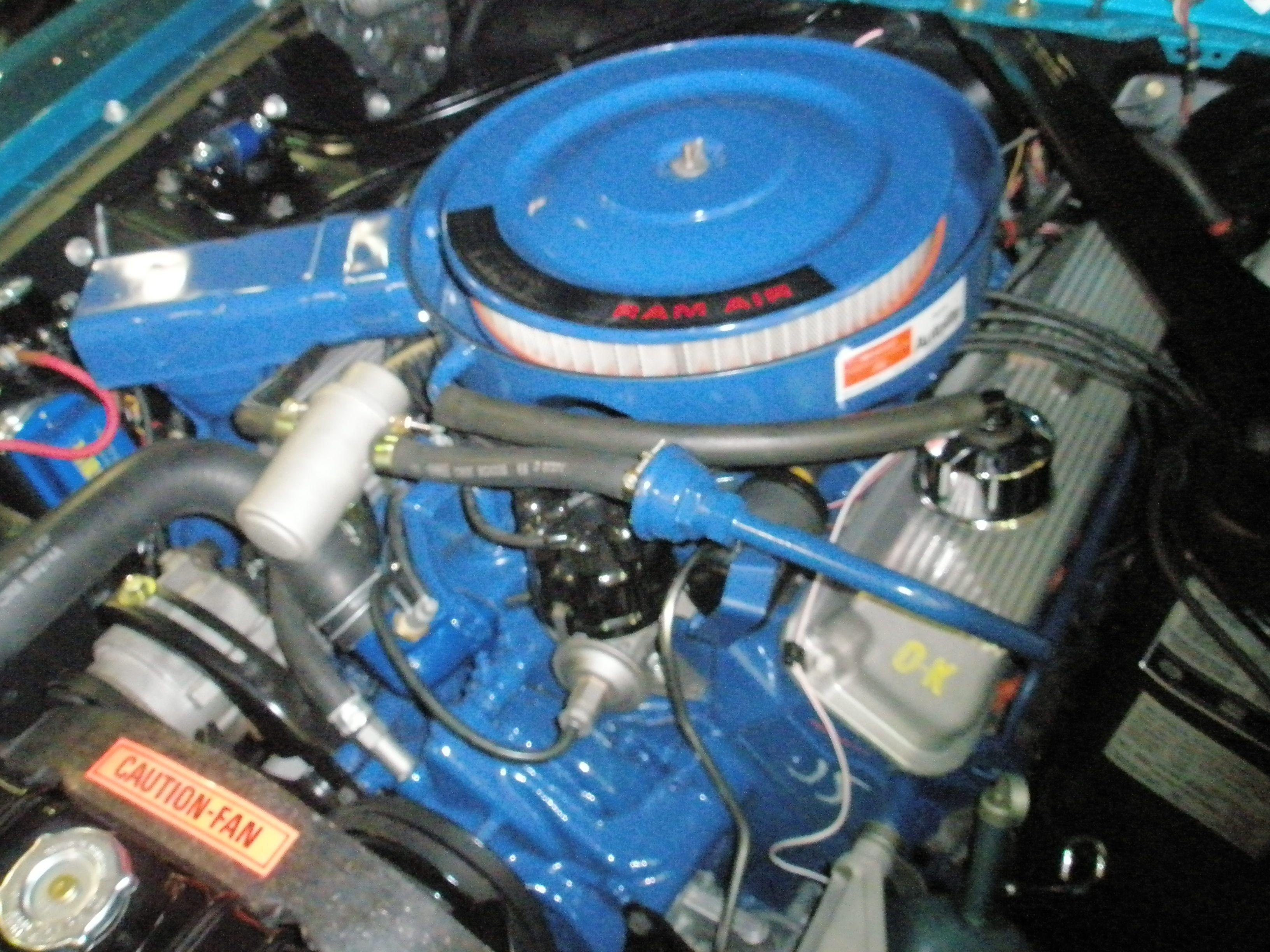1969 Shelby GT 500 428 Super Cobra Jet engine Still has correct