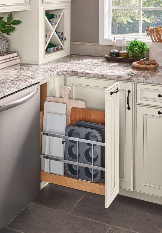 Kitchen Cabinet Storage & Organization Solutions