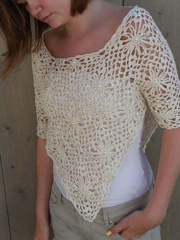 Dames Poncho Haken Crochet By Rachel Crochet