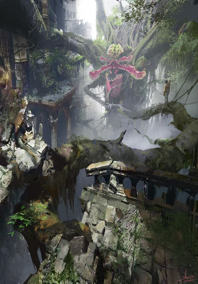 artstation - concept, ling xiang | 背景 イラスト | pinterest