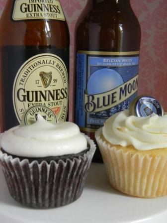 I think I shall try this sometime...THE ORIGINAL Beer Cupcakes by cacaobakery on Etsy, $38.00