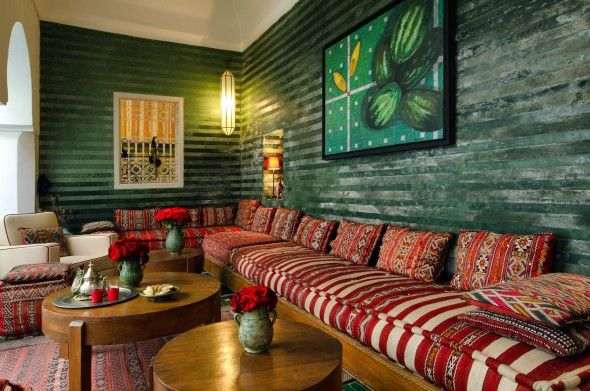 Salon marocain modèle berbère traditionnel … | Deco ideas en ...