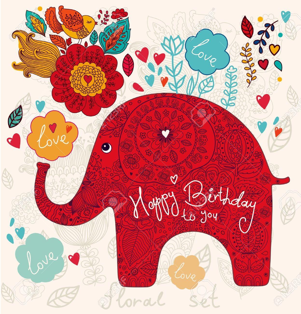 elephant happy birthday Happy birthday elephant   Happy Birthday!   Birthday, Happy  elephant happy birthday