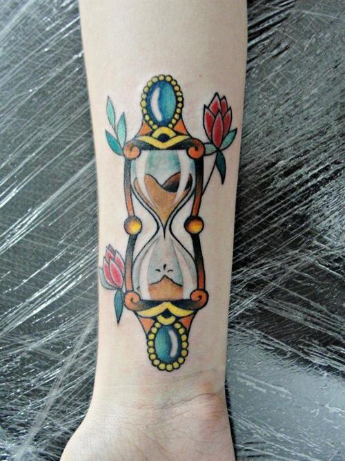 Conosciuto Idee originali per un tatuaggio con clessidra e significato  DV24