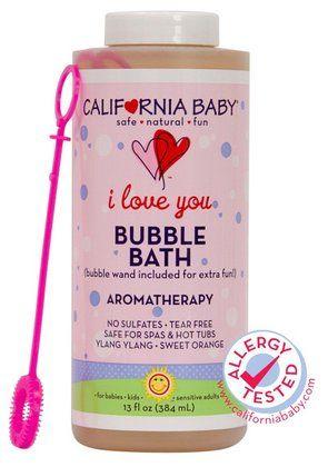 California Baby Aromatherapy Bubble Bath I Love You 13 Oz Baby Bubble Bath California Baby Bubble Bath
