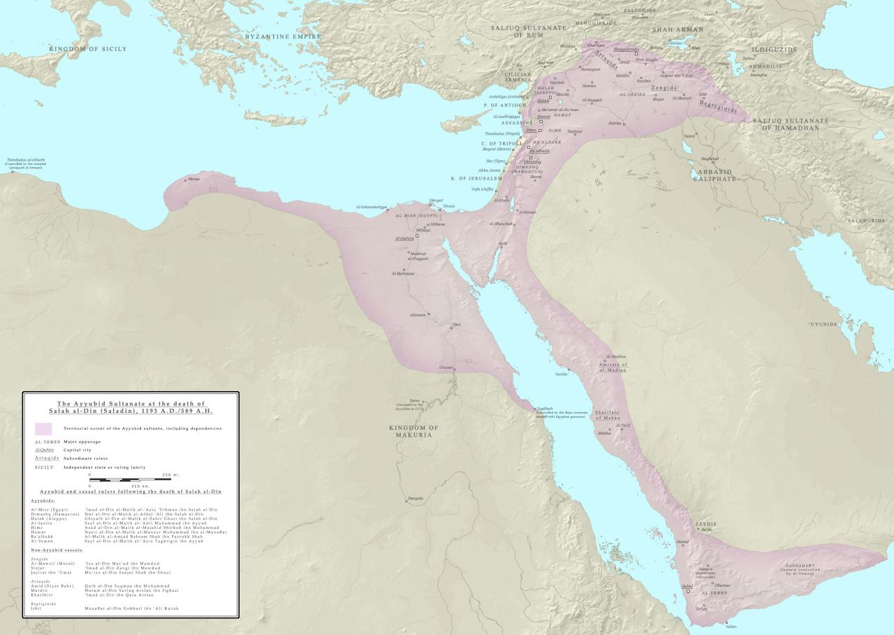 Middle East energy deposits in the context