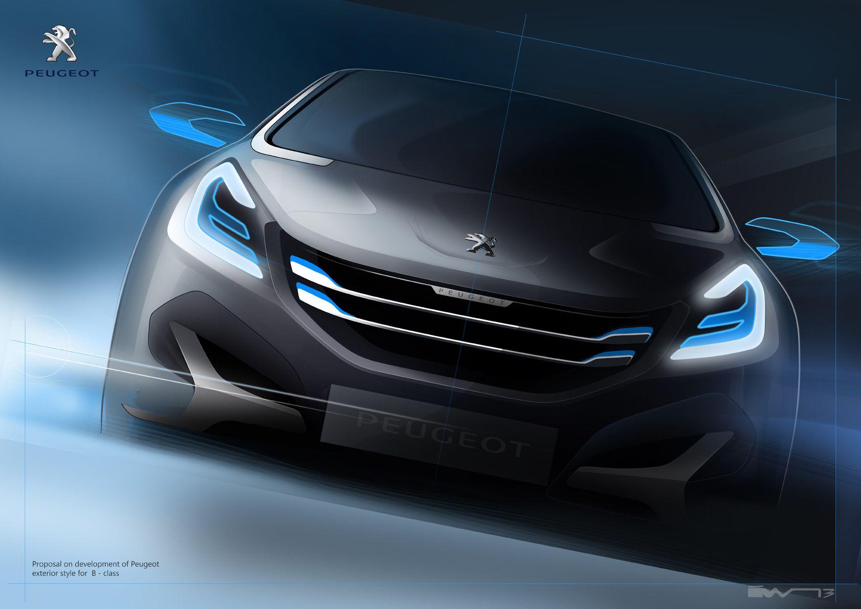 Peugeot proposal sketch