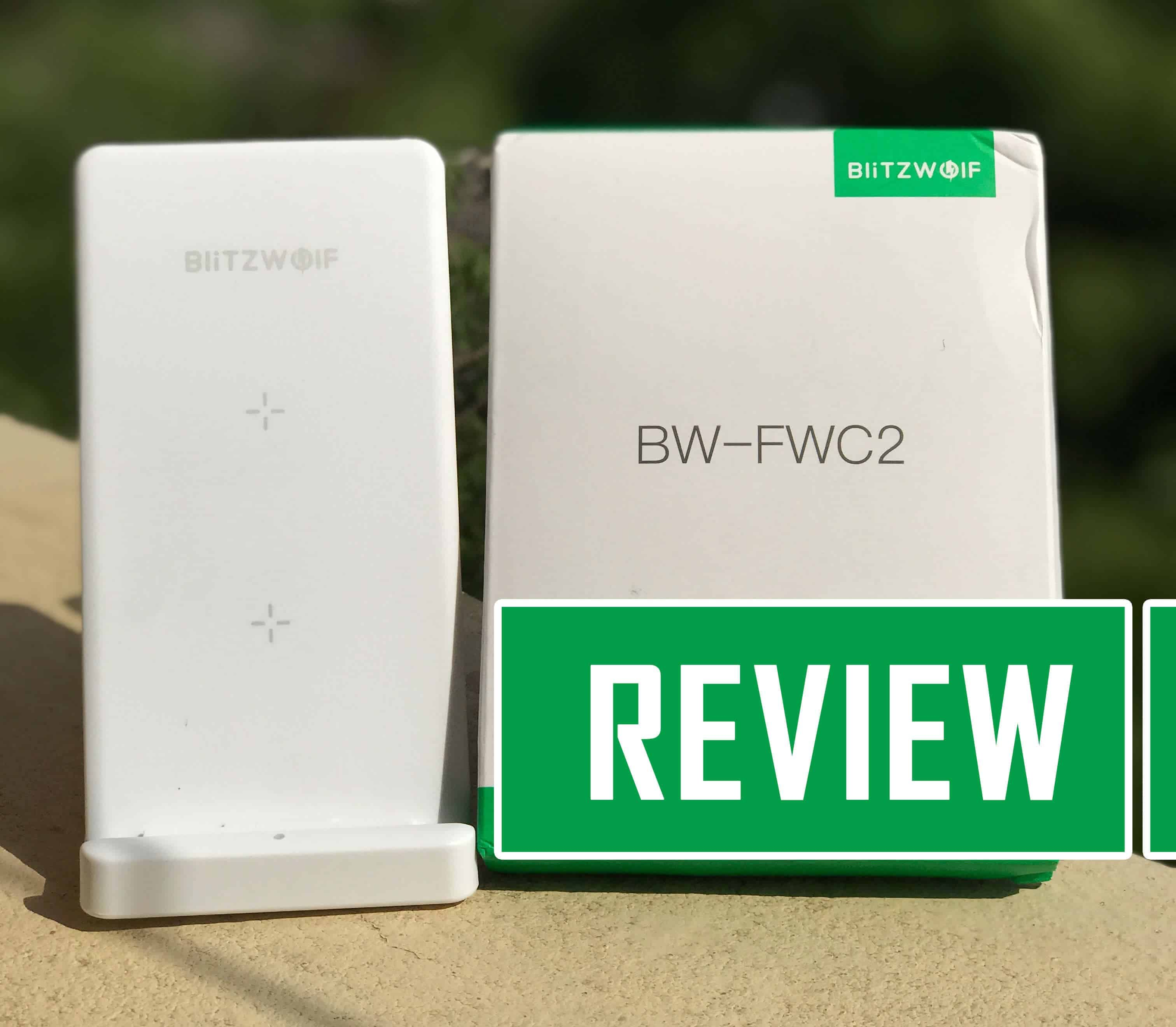 BlitzWolf BW-FWC2 Foldable Fast Wireless Charger