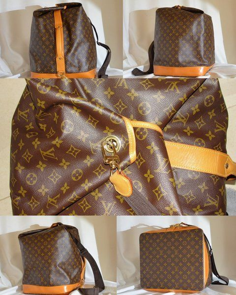 Louis Vuitton Vintage Sac Marine Duffle Bag Rare Luggage Vintage Louis Vuitton Louis Vuitton Louis Vuitton Shop