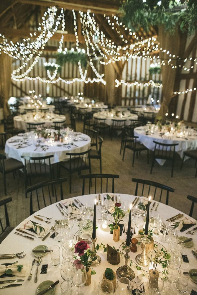 We love a winter wedding for rich, sumptuous, cosy and atmospheric celebrations!