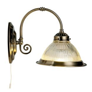 Oklahoma wall light antique brass from homebase living oklahoma wall light antique brass from homebase mozeypictures Images