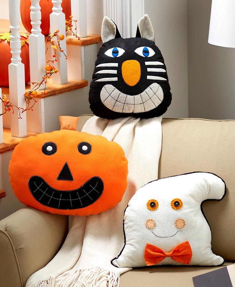 Primitive Halloween Face Pillows Face pillow, Primitive